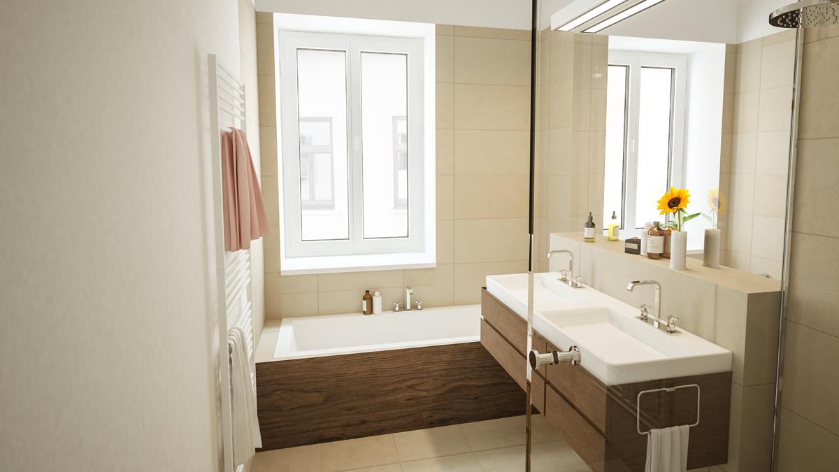 Badezimmer Margaretenstraße 139